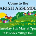 Parish Assembly – 9 May 7PM
