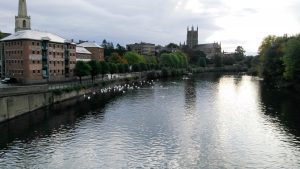 Worcester and the River Severn
